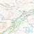 Map of Glen Cassley & Glen Oykel