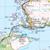 Map of Loch Alsh, Glen Shiel & Loch Hourn