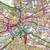 Map of Newcastle upon Tyne Durham & Sunderland