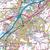 Map of Blackburn & Burnley