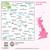 Map of Leeds & Bradford