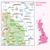Map of Sheffield & Huddersfield