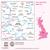 Map of Derby & Burton upon Trent