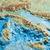 Dorrigo 3D Europe relief map