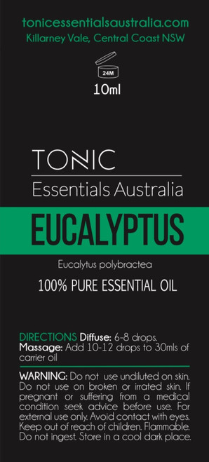 Eucalyptus 100% Pure Essential Oil 10ml