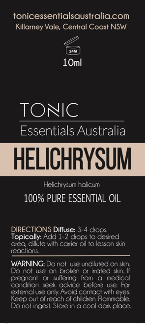 Helychrisum (Immortal flower) 100% Pure Essential Oil 10ml