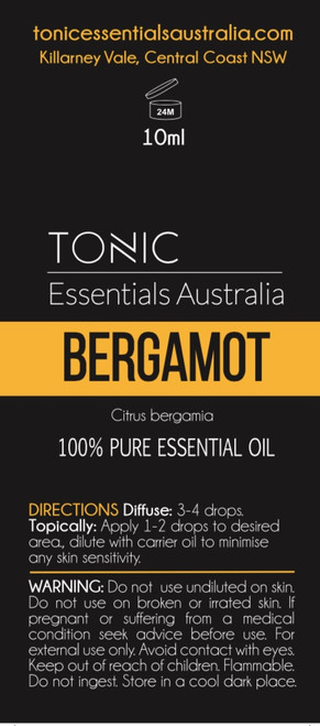 Bergamot 100% Pure Essential Oil 10ml
