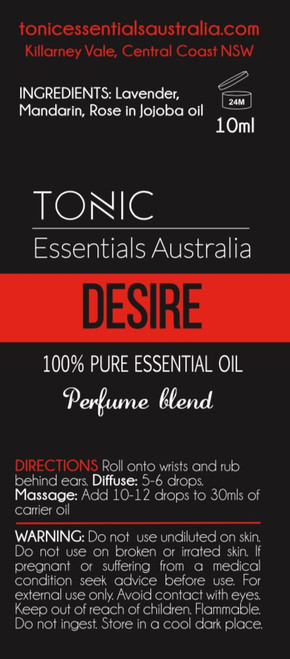 Liora Perfume Blend 10ml Roll on - Tonic Essentials Australia