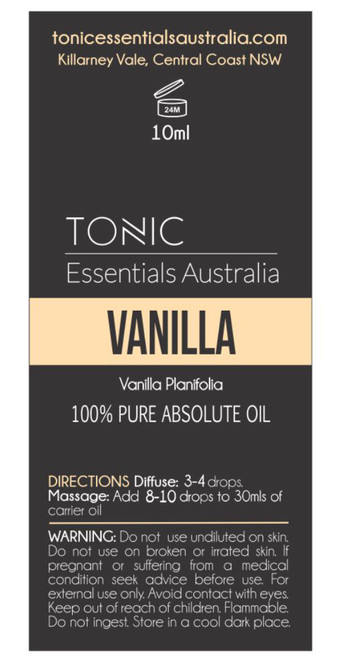 Vanilla Absolute Oil 10ml
