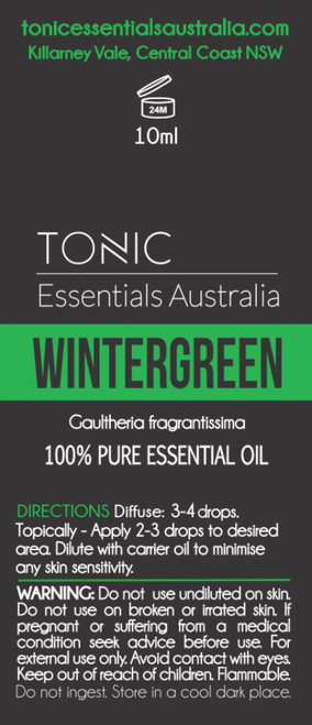 Wintergreen 100% Pure Essential Oil 10ml