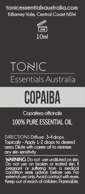 Copaiba 100% Pure Essential Oil 10ml