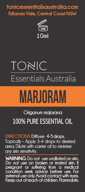 Marjoram 100% Pure Essential Oil 10ml