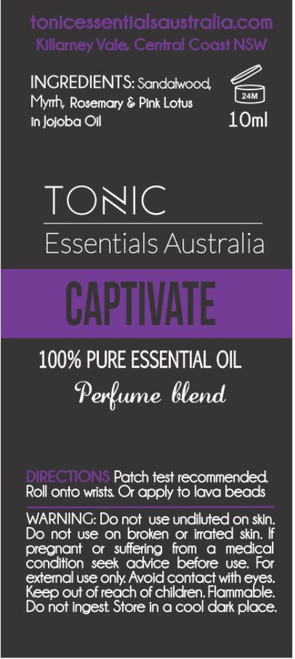 Captivate  Perfume Blend 10ml Roll On