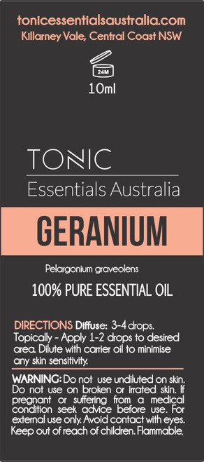 Geranium 100% Pure Essential Oil  10ml