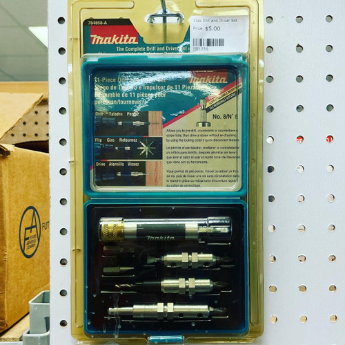 11pc Drill and Driver Set