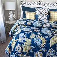 Edisto Coastal Collection Duvet Set