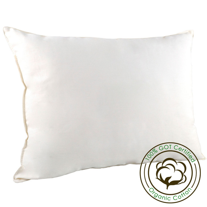 13x18 Organic Cotton Travel Time Travel Pillow (353-73024)