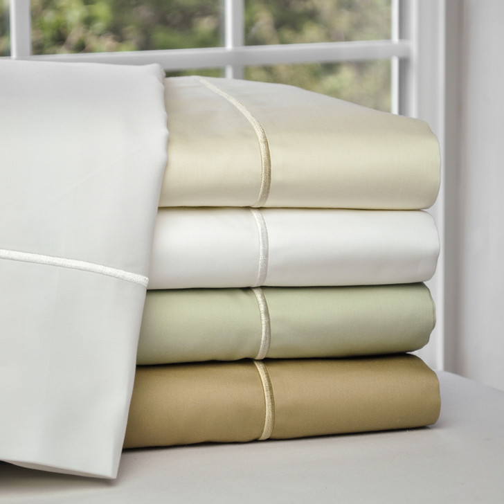 Family Bed Classic Sheet Sets With Matching Heirloom Stitch