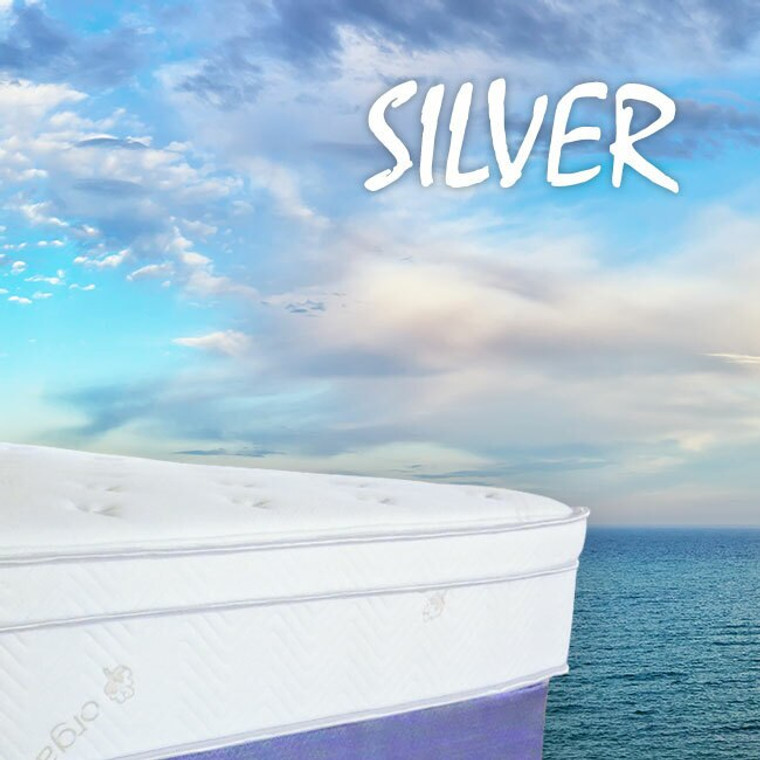 """Silver """"The Gold Standard in Mattresses"""" by Allyson Brooke Home"""