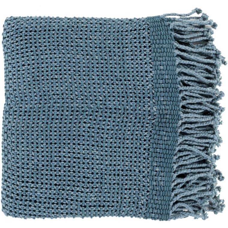 """Tibey 50""""x70"""" Woven Cotton Throw"""