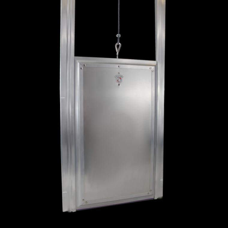 Kennel Clad Dual Auto Locking Premium Insulated Guillotine Door