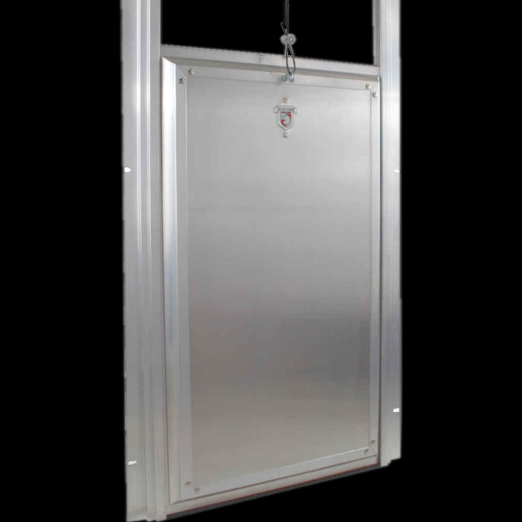 Kennel Clad Premium Insulated Guillotine Door