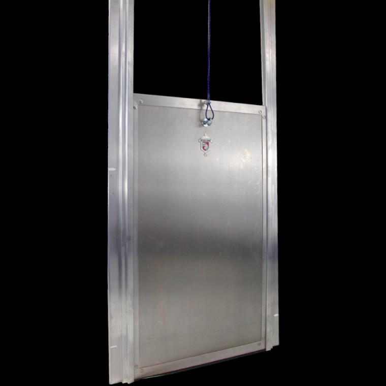 Kennel Clad  Insulated Guillotine Door