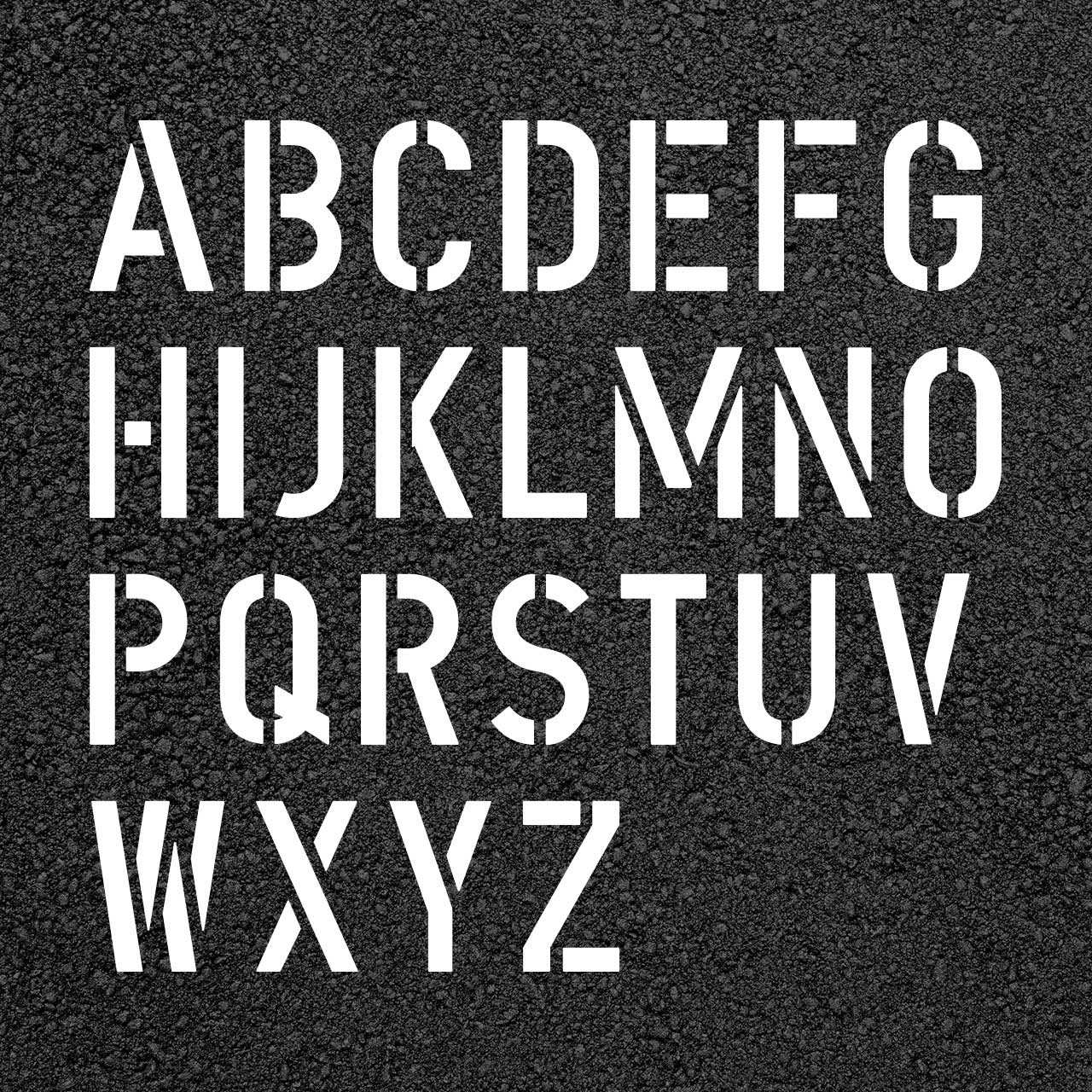 STENCIL CLEAR ALPHABET LETTER NUMBER STENCILS CHARACTERS SYMBOLS CHOSE YOUR SIZE