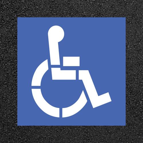 Handicap Stencils | Stop-Painting