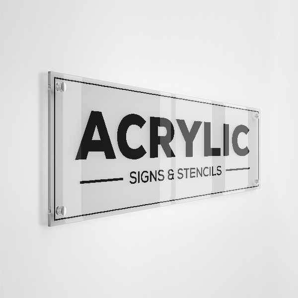 Custom Acrylic Signs & Lettering (stencils)