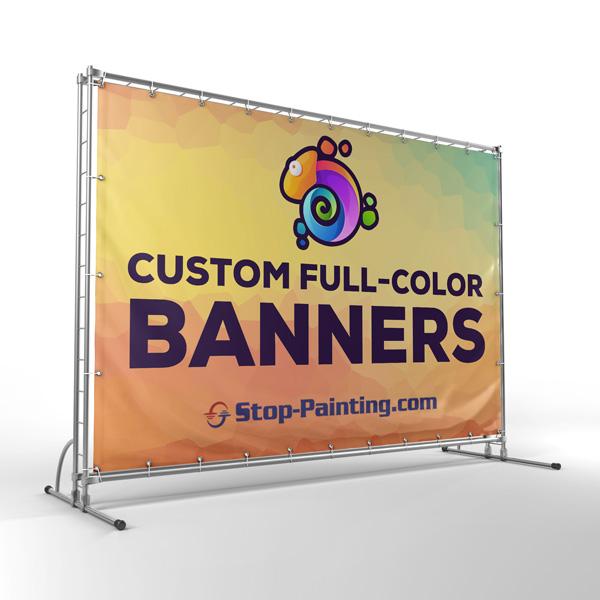 Custom Materials - Banner