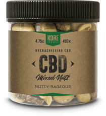 Jar 8oz/ 4.75oz Approx. 3mg/ 450x Nutty-Rageous Mixed Nuts