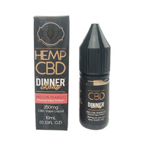 Dinner Lady CBD - E-Liquid 10ml - 250mg (MSRP $25.00)