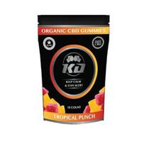 Tropical CBD Gummies By Knockout CBD 100MG 10ct