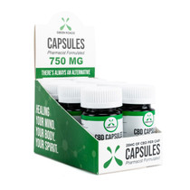 CBD Capsules By Green Roads 750MG *Box Of 6*