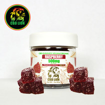 CBD Lion - CBD Gummies 3oz Jar 500mg (MSRP $49.99)