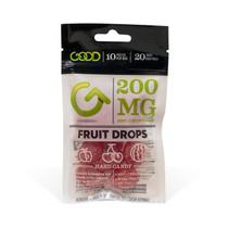 CBD Candy By Good CBD Fruit Drops 200MG
