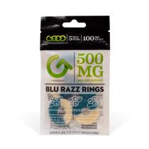CBD Candy By Good CBD Blue Razz Rings 500MG