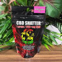 CBD Lion - Shatter 960mg 1.0g (MSRP $50.00)