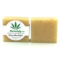 Hemp Seed Oil Soap Bar By Remedy Oil Cherry Almond Blast