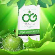 CBD Pods By OG Laboratories Pack of 4 Sour Green Apple