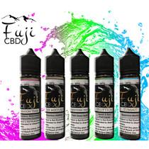 CBD Vape Juice By Fuji CBD 60ML, Dragon Tears, Forbidden Fruit , Eruption, Summit , The Mixture