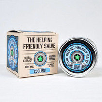 Herbal Extract Topical By The Helping Friendly Salve 200MG 4oz. jar Cooling