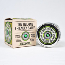 Herbal Extract Topical By The Helping Friendly Salve 200MG 4oz. jar Unscented