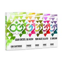 OG CBD Cartridge By OG Laboratories 500MG , Blue Dream Vape, Gelato Vape, Lemon Haze Vape, OG Kush Vape, Sour Diesel Vape