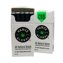 Vance Global - CBD Flower 1000mg - Display of 10 Packs of 10 Pre Rolls (MSRP $15.00ea)