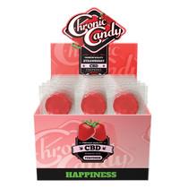 Chronic Candy - CBD Lollipop 10mg - Display of 60 (MSRP $2.00ea)
