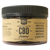 CBD Gummies By Kore Organic CBD 35ct Jar *Drop Ship* (MSRP $43.99)