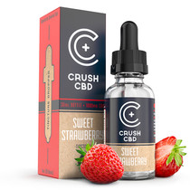 Crush CBD Tinctures Sweet Strawberry