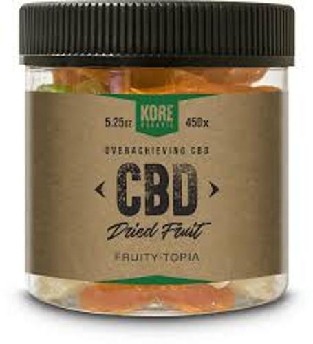 Kore Organic  CBD - Dried Fruits - 1000mg *Drop Ship* (MSRP $59.99)